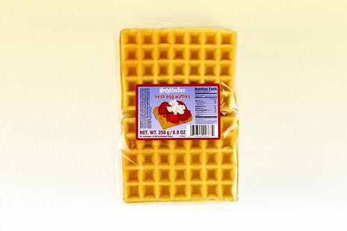 Schlünder Fresh Egg Waffles 8.8 oz (250g)