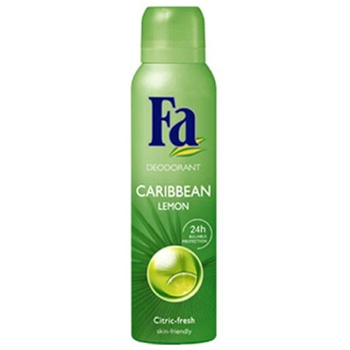 Fa Caribbean Lemon Spray Deodorant 5.1 oz (150ml)