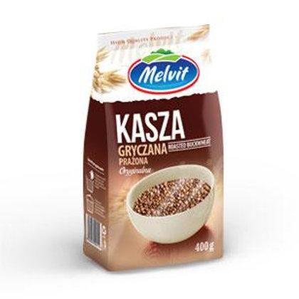 Melvit Roasted Buckwheat Groats (Kasza Gryczana Prażona) 14.1 oz (400g)