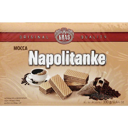 Kras Napolitanke Mocca Wafers 11.6 oz (330g)