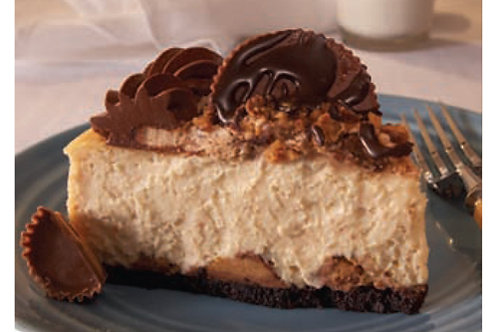 Junior's Reese's New York Peanut Butter Cheesecake Slice (on rotation)