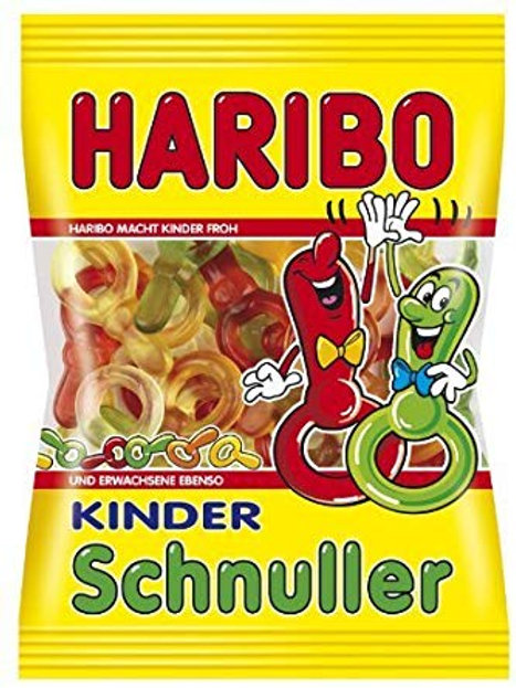 German Haribo Kinder Schnuller (Pacifiers) 7.05 oz (200g)