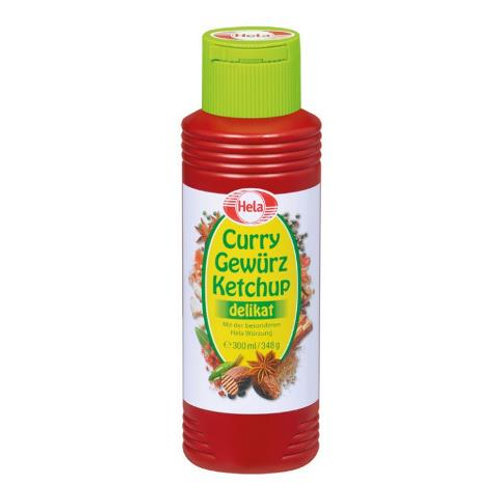 Hela Curry Gewürz Ketchup Mild Green 12.3 oz (348g)