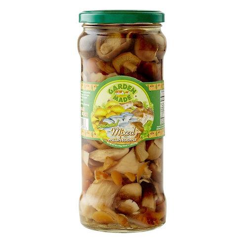 Garden Made Mushrooms Marinated Mixed 19 oz (530g)