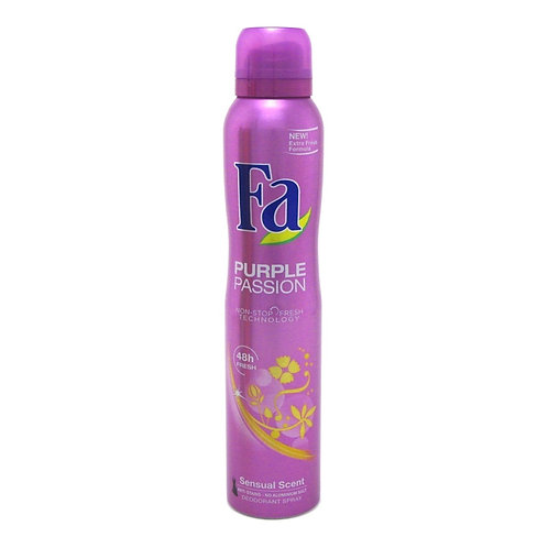 FA Purple Passion Deodorant Spray 5 oz (150ml)