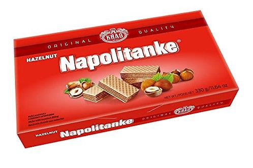 Kras Napolitanke Hazelnut Wafers 11.6 oz (330g)