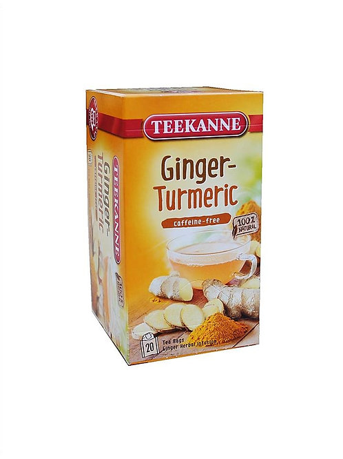 Teekanne Ginger Turmeric Box of 20 Tea Bags
