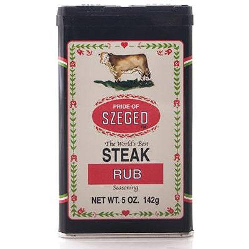 Pride of Szeged Steak Rub Seasoning 5 oz (142g)