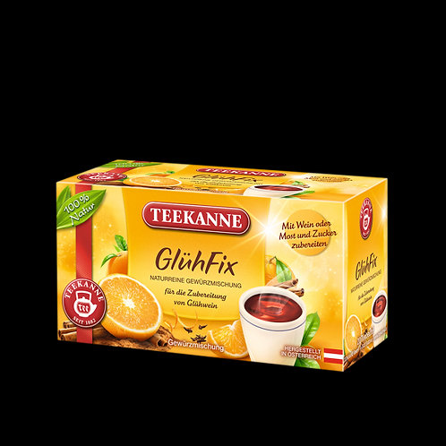Teekanne Glühfix (Spice for Mulled Wine) Box of 20 Tea Bags