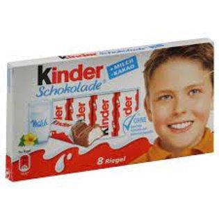 Ferrero Kinder Bars 3.5 oz (100g)