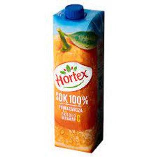 Hortex Orange Juice (Sok 100% Pomarańcza) 33.8 oz (1L)