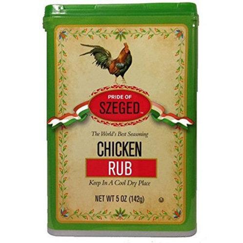Pride of Szeged Chicken Rub Spice 5 oz (142g)