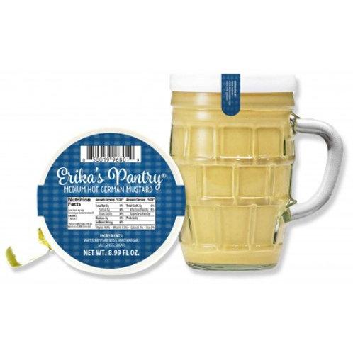 Erika's Pantry Medium-Hot Mug Mustard 9.2 oz (261g)