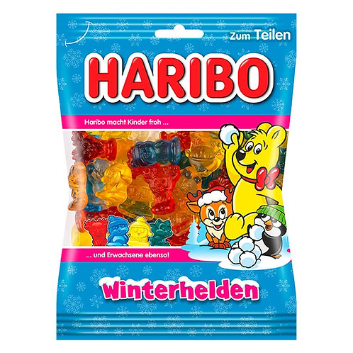 Haribo Winter Heroes (Winterhelden) 6.2 oz (175g)