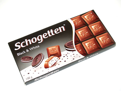 Schogetten Black & White 3.5 oz (100g)