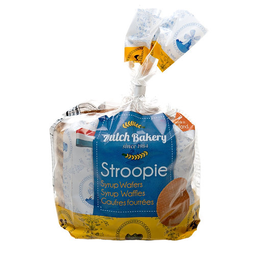 Dutch Bakery Stroopie Syrup Waffles 8.9 oz (252g)