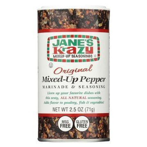 Jane's Krazy Mixed-Up Pepper 2.5 oz (71g)