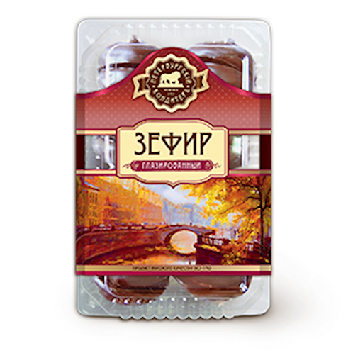 St. Petersburg Zefir (Zephyr, Merengue, Marshmallow) 14.8 oz (420g)