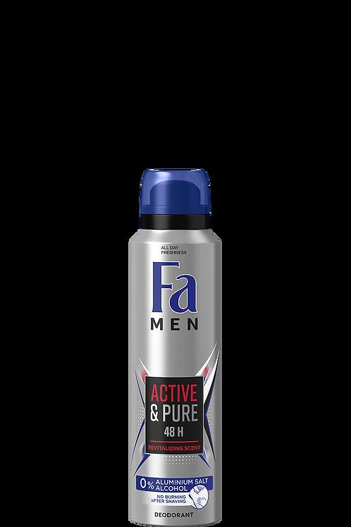 Fa Active & Pure Deodorant Spray 5.1 oz (150ml)