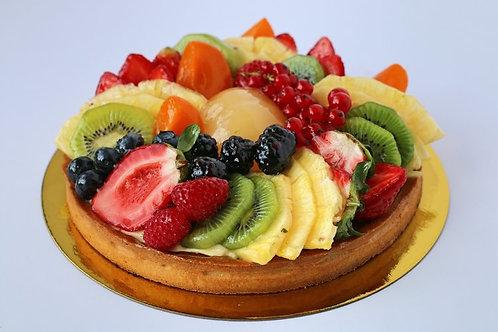 """Mixed Fruit Tart - 6"""" (serves 8)"""