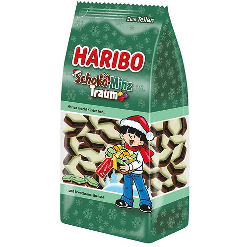 Haribo Chocolate Mint Dream (Schoko-Minz Traum) 10.58 oz (300g)