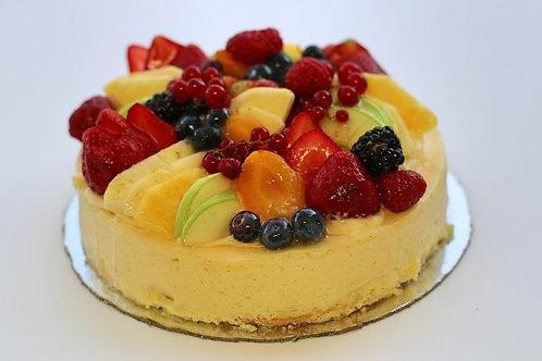 "Mixed Fruit Cheesecake - 6"" (serves 8)"