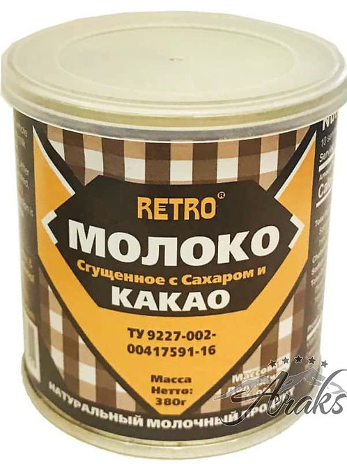 Sweetened Condensed Milk with Cacao 13.4 oz (380g) Easy-Open