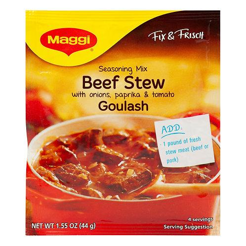 Maggi German Beef Goulash (Gulasch) Stew Mix 1.6 oz (44g)