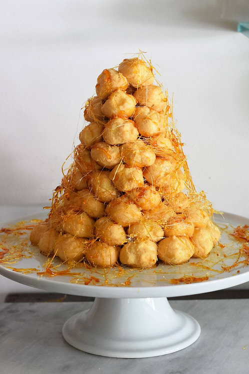 French Croquembouche Cake
