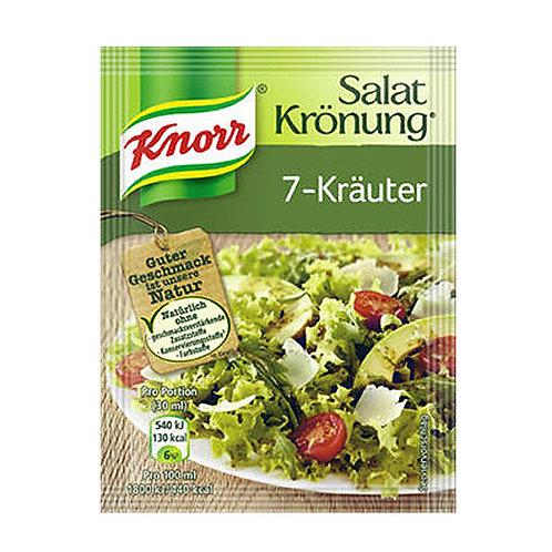 Knorr Salat Krönung 7-Kräuter (7- Herb) Salad Mix 0.3 oz (9g