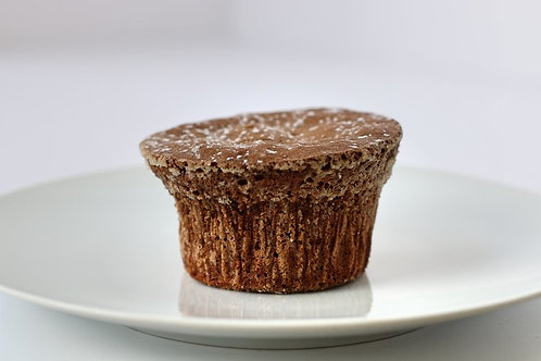 Chocolate Souffle Individual Pastry
