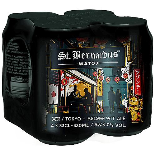 St Bernardus – Tokyo Wit Ale Cans 4-pack 11.2 oz (3300ml)