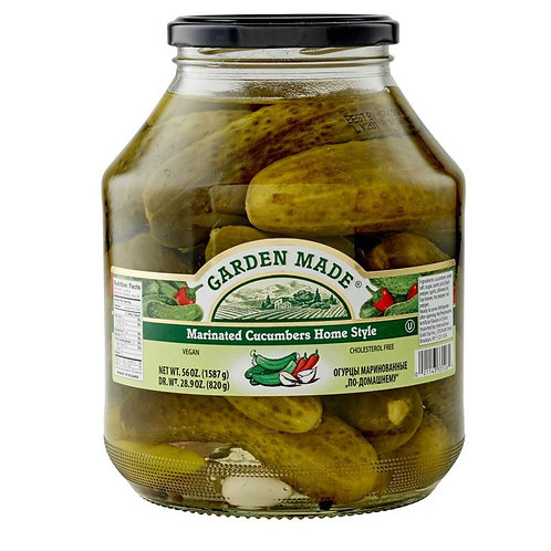 Garden Made Marinated Cucumbers Home Style 58 oz (1.6kg)