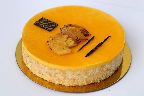 "Mango Pineapple Cake - 6"" (serves 8)"