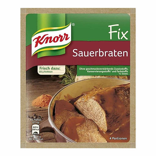 Knorr Fix Sauerbraten (Pot Roast) Mix 1.3 oz (37g)