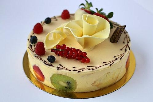 "Spanish Fruit Cake - 8"" (serves 10)"