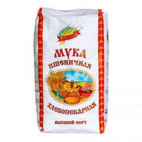 Russkoye Pole (Русское Поле) Wheat Flour (Mука Пшеничная) 1kg