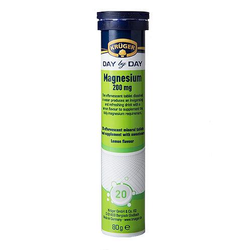 Krüger Magnesium Effervescent Tablets 2.8 oz (80g)