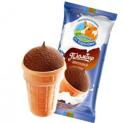 Korovka from Korenovka Chocolate Ice Cream Waffle Cup