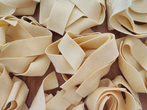 Fresh Italian Pappardelle Pasta 17.6 oz (500g) Package