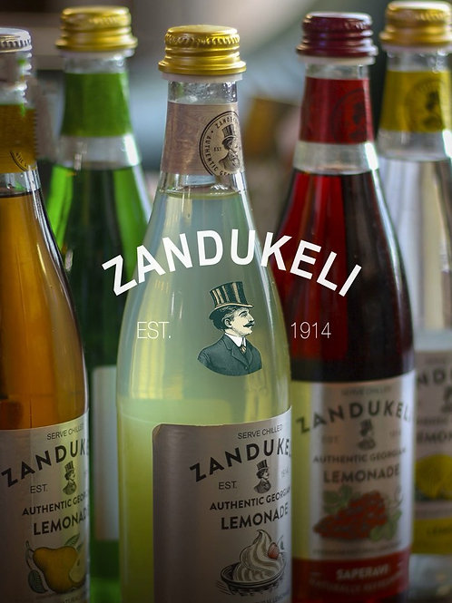 Zandukeli (Est. 1914) Lemon Lemonade 16.9 oz (0.5 L)