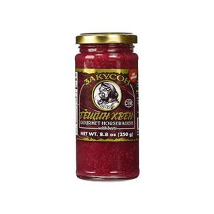 Zakuson Horseradish with Beets 8.8 oz (250g)