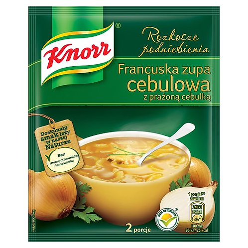 Knorr French Onion Soup (Francuska Zupa Cebulowa) Soup Mix 31g