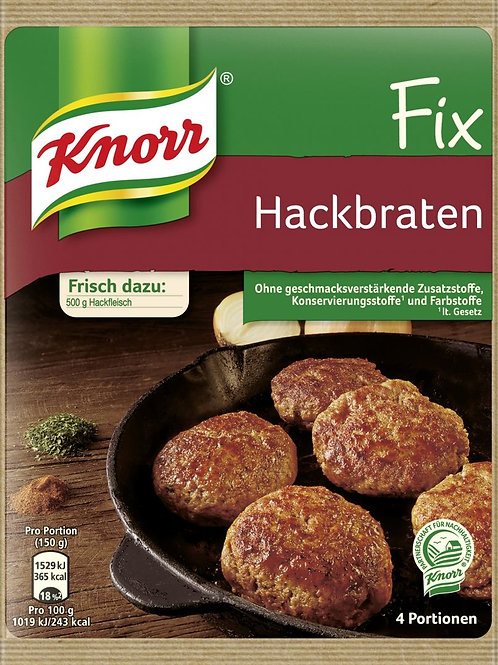 Knorr Fix Hackbraten (Hamburger) Mix 3.5 oz (100g)