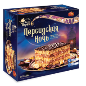 "Persian Nights (""ПЕРСИДСКАЯ НОЧЬ"") Cake - Imported from Russia 23.3 oz (660g)"