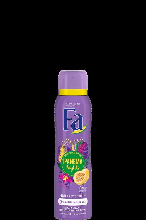 FA Brazilian Vibes Ipanema Nights Deodorant Spray 5 oz (150ml)