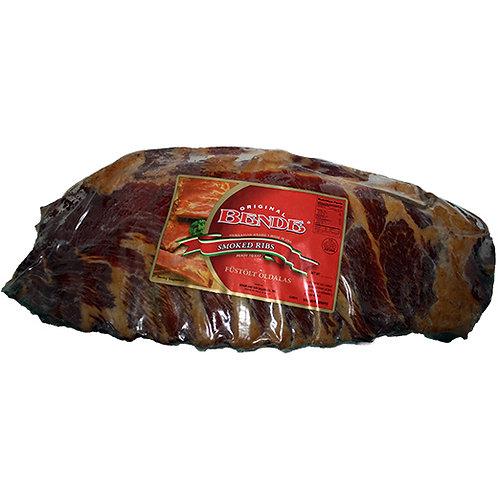 Hungarian Brand Smoked Ribs Fustolt Oldalas (1.25 pounds)
