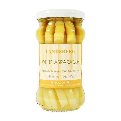 Landsberger Weißer Spargel/ White Asparagus Jar 11.2 oz (330 ml)