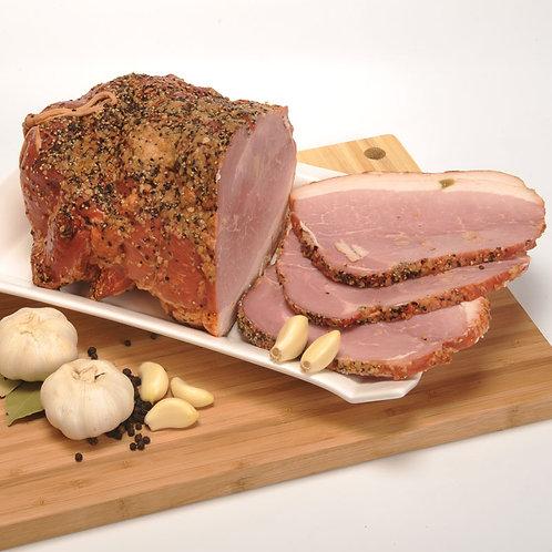 Polish Garlic Moscow-style Ham (Szynka Moskiewska)