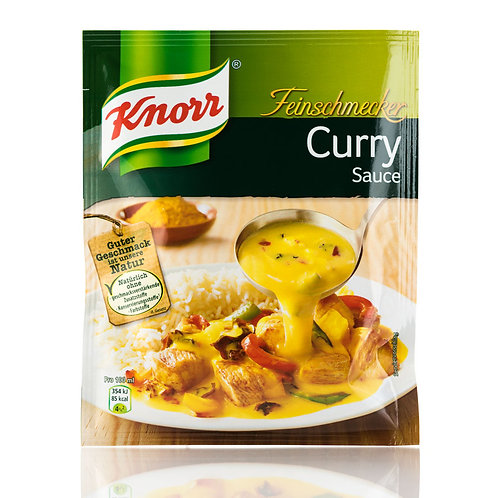 Knorr Feinschmecker Curry Sauce 1.7 oz (47g)